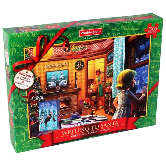 Christmas Jigsaw Puzzle (1000 Pieces)