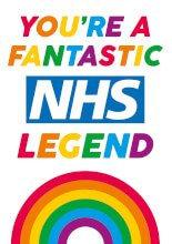 You're A Fantastic NHS Legend Greeting Card