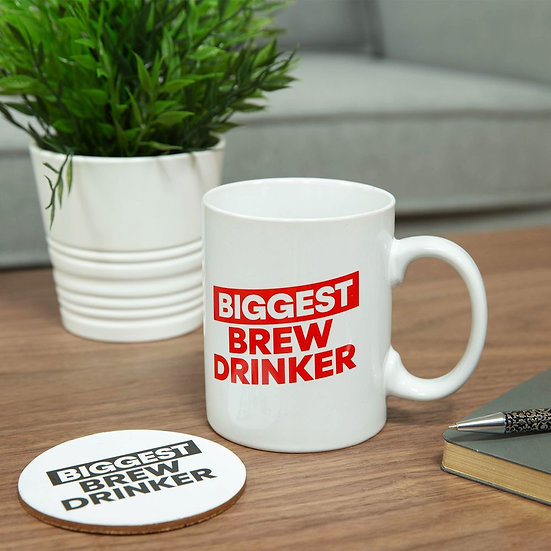 Biggest Brew - Oversized Mug & Coaster