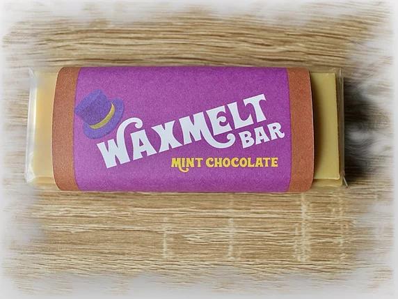Mint Chocolate Wax Melt Bar 50g