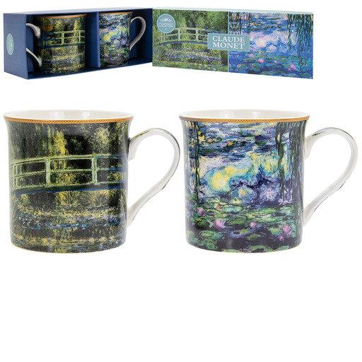 Claude Monet Mugs Set of 2