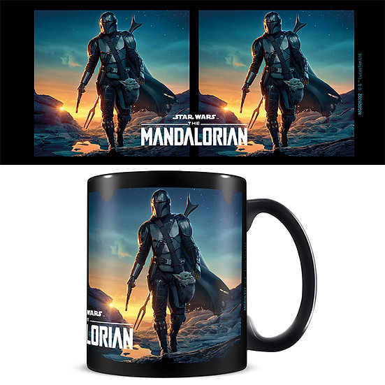 Star Wars: The Mandalorian Mug - Nightfall Black