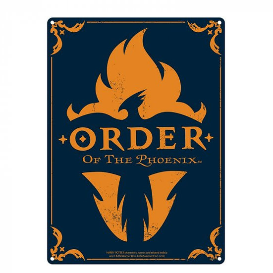 Harry Potter Order Of The Phoenix Large Tin Sign
