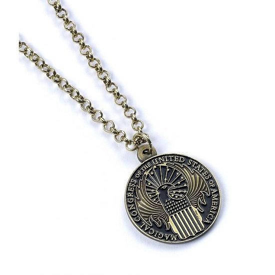 Fantastic Beasts Magical Congress Necklace