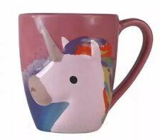 Caffeine & Unicorn Dust Embossed Mug