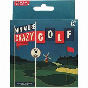 Miniature Crazy Golf