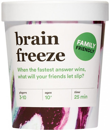 Brain Freeze Family Edition