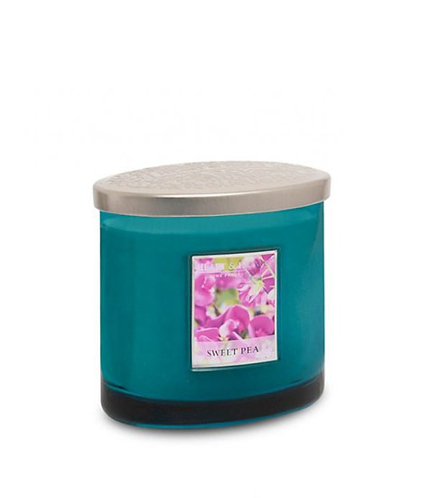 Heart & Home Sweet Pea - 2 Wick Ellipse Candle