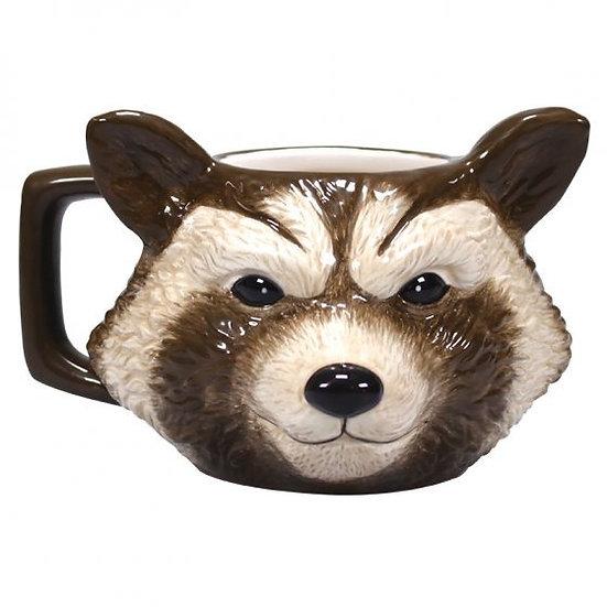 Guardians Of The Galaxy Shaped Mug - Rocket