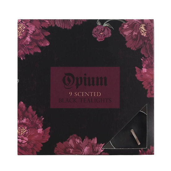 Opium Scented Black Tealights