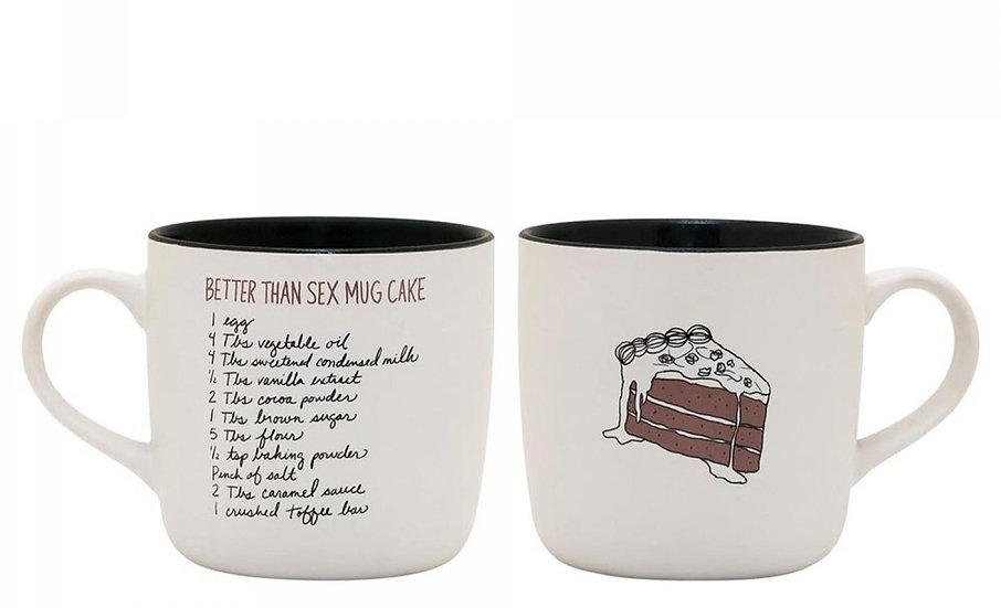 Better Than Sex Mug Cake
