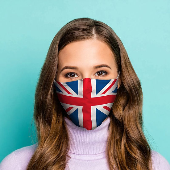 Union Jack Reusable Face Mask - Large