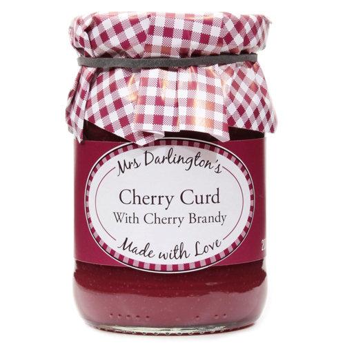 Mrs Darlington's Cherry Curd With Cherry Brandy 200g