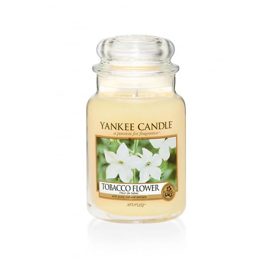 Yankee Candle Tobacco Flower - Large Candle Jar 623g