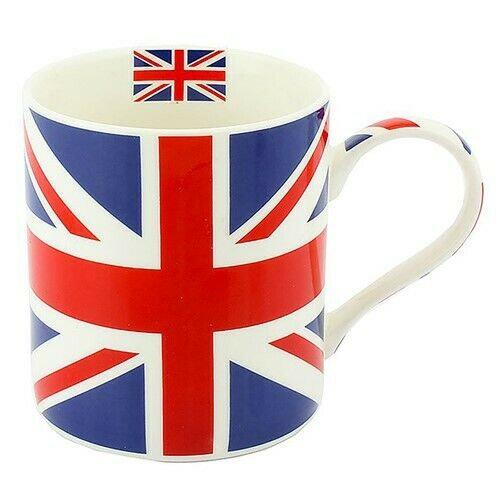 Union Jack Fine China Mug