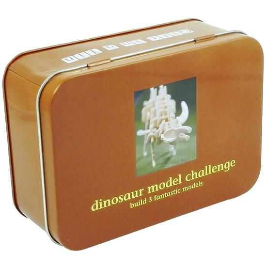 Dinosaur Model Challenge - Gift In A Tin