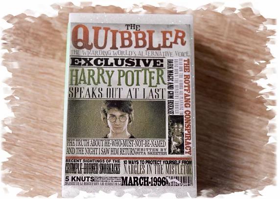 Harry Potter Quibbler Soap 100g