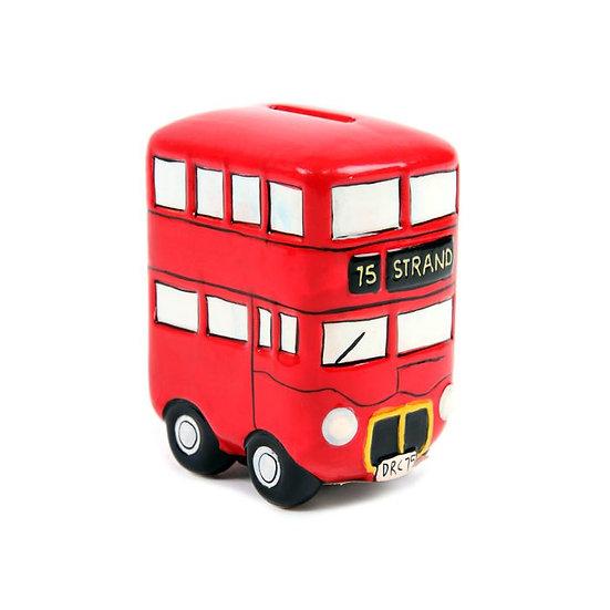 Routemaster Bus Ceramic Money Box