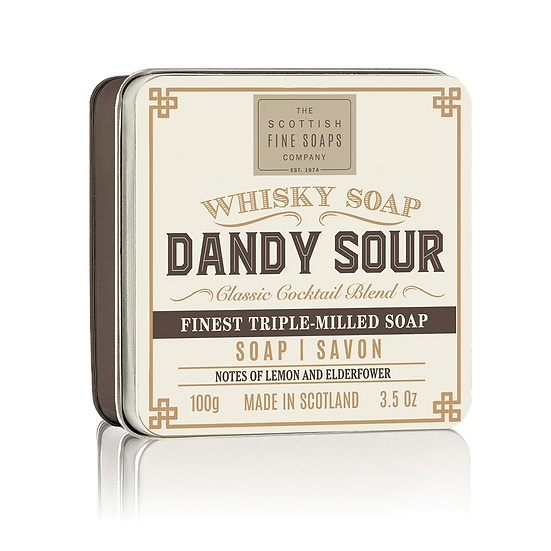 Dandy Sour Soap In A Tin 100g