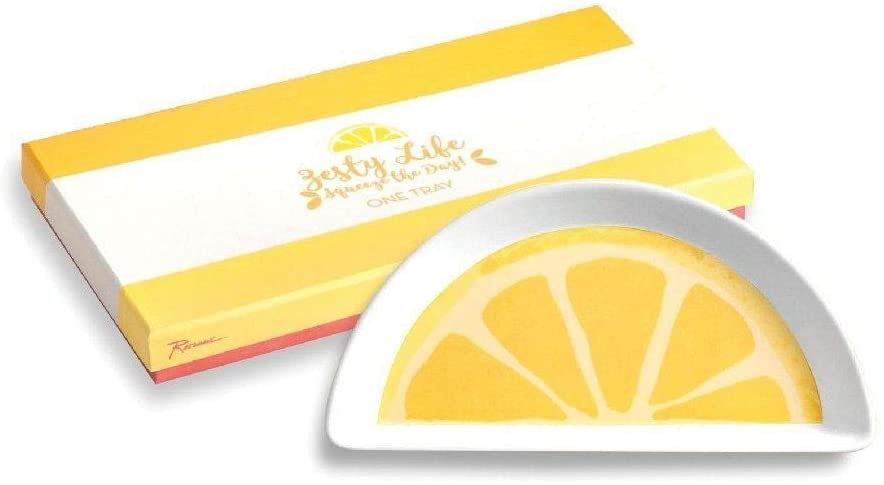 """Rosanna Lemon 7"""" Tray"""