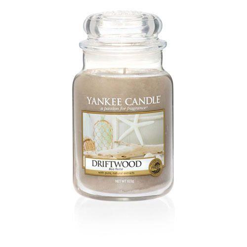 Yankee Candle Driftwood - Large Candle Jar 623g