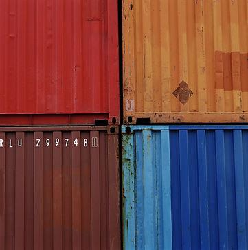 stockage de conteneur dans un port maritime