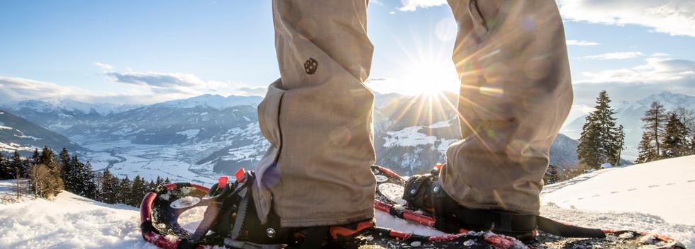 Skischuhwanderung