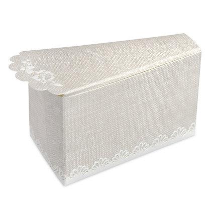 Rose Hessian Cake Box