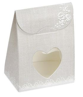 Rose Hessian Sachet Box