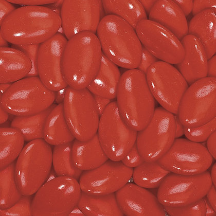 Chocolate Dragees Oval Red