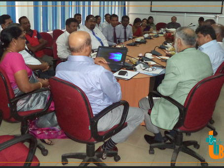 Progress Review Meeting of Accident and Emergency Treatment Care Unit
