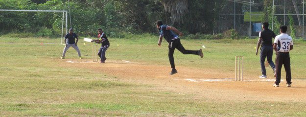 Champions Trophy inter-department six-a-side cricket tournament - 07.03.2020