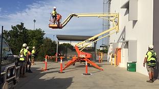 Operate elevating work platform - Under 11m
