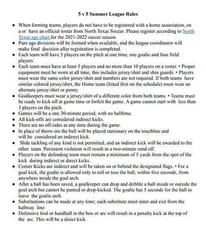 5 v 5 Summer League Rules.PNG