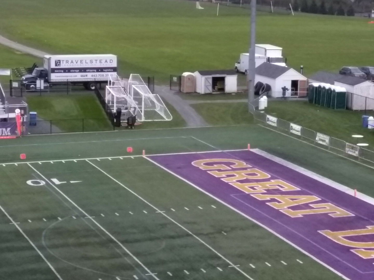 University of Albany Game Day Logisitics for Towson Univeristy Albany, NY