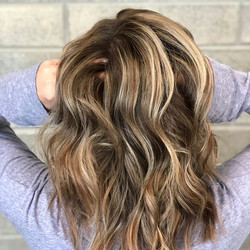 Highlights to balyage! Loved giving int _dmichling a fresh look!!!