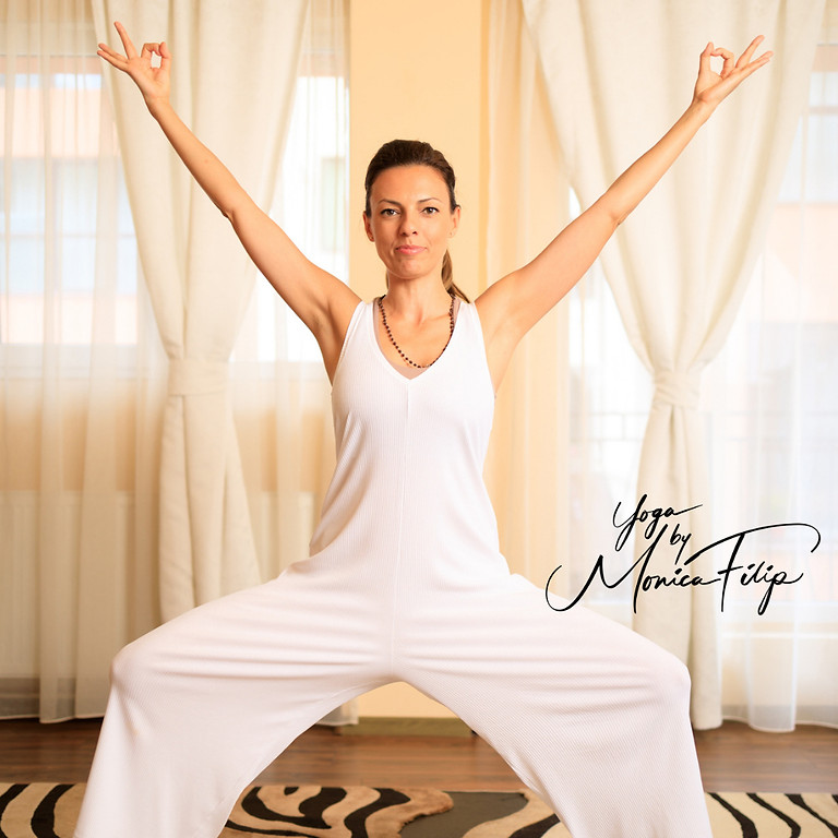 Yoga at home, live with Monica Filip