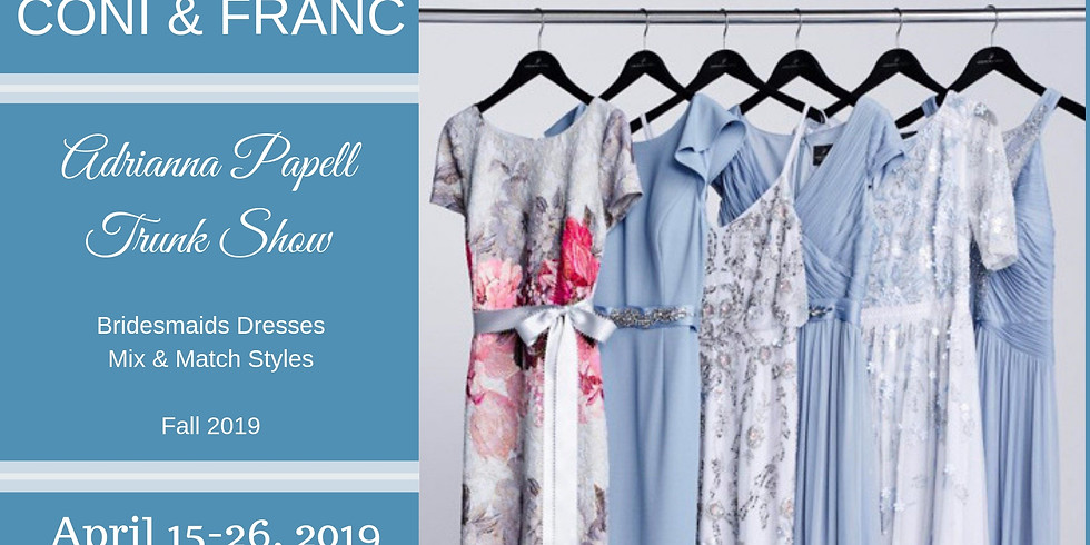 Adrianna Papell Trunk Show
