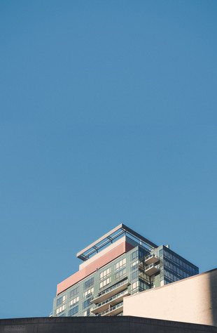 High rise and blue sky
