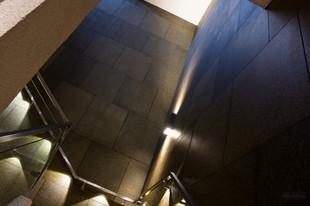 New Club stairwell