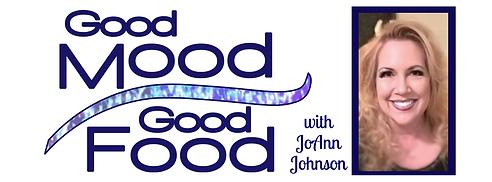 Good mood good food logo with JoAnns pic
