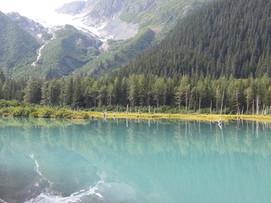 Lake at Explorer Glacier