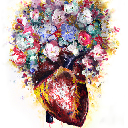 """""""The Artist's Heart"""" (SOLD)"""