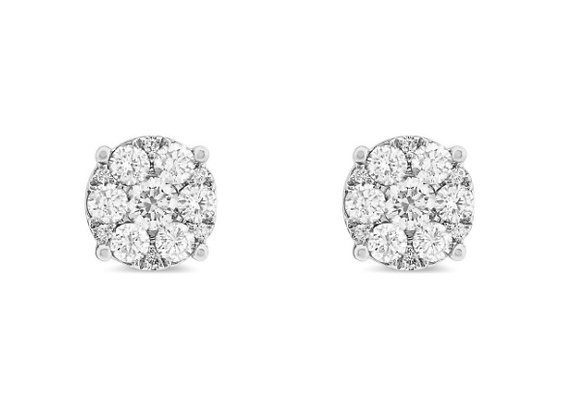 0.89ct Diamond Studs