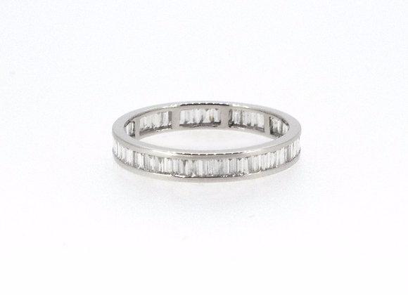Baguette Cut Full Eternity Ring