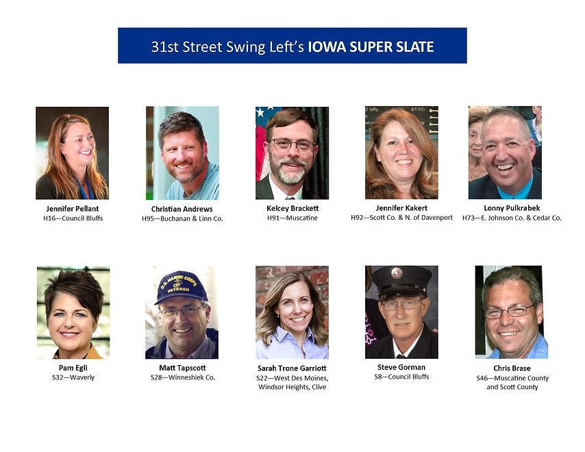 31st Street Swing Left's IA Legislative