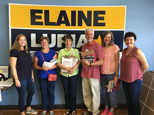 Elaine Luria Canvass