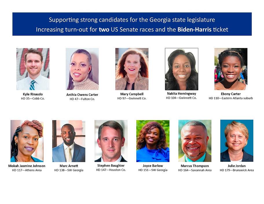 31st Street Swing Left's GA Legislative