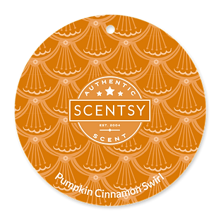 Pumpkin Cinnamon Swirl Scent Circle