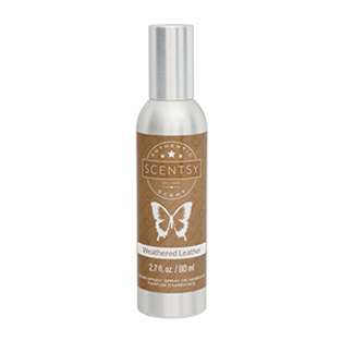 Weathered Leather Scentsy Room Spray